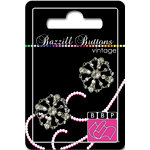 Bazzill Basics - Vintage Collection - Jewel Buttons - Bling - Caroline
