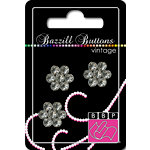 Bazzill Basics - Vintage Collection - Jewel Buttons - Bling - Elizabeth
