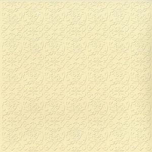 Bazzill Basics - 12 x 12 Embossed Cardstock - Trellis - Sugar Cookie