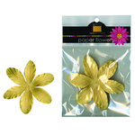 Bazzill Basics - Paper Flowers - 3.75 Inch Lily - Daisy, CLEARANCE