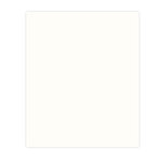 Bazzill Basics - 8.5 x 11 Cardstock - Simply Smooth Texture - White