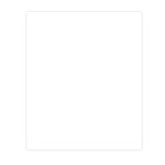 Bazzill Basics - 8.5 x 11 Cardstock - Smooth Texture - White