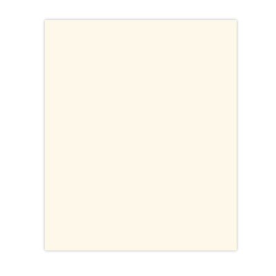 Bazzill Basics - 8.5 x 11 Cardstock - Smooth Texture - Ivory, CLEARANCE
