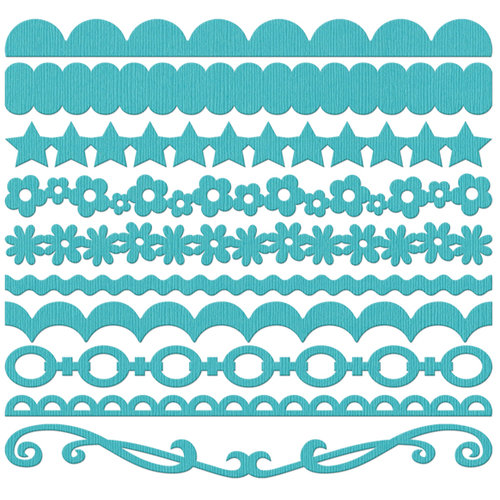 Bazzill Basics - Half The Edge II Collection - 6 Inch Cardstock Strips - Navajo, CLEARANCE