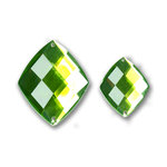 Bazzill Basics - Baubles Collection - Bling - Diamond - Emerald
