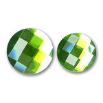 Bazzill Basics - Baubles Collection - Bling - Circle - Emerald