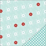 Bazzill Basics - Worth Remembering Collection - 12 x 12 Double Sided Paper - Dancing Daisies