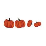 Bazzill Basics - Halloween - Cardstock Shapes - Fall Pumpkins