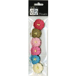 Bazzill Basics - Divinely Sweet Collection - Paper Flowers - Poppies