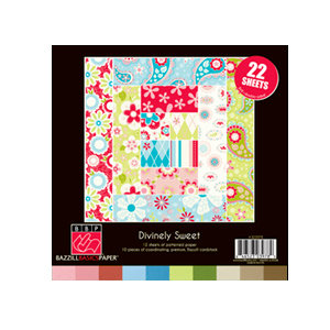 Bazzill - Divinely Sweet Collection - 8 x 8 Assortment Pack