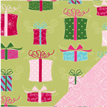 Bazzill Basics - Holiday Style Collection - Christmas - 12 x 12 Double Sided Paper - No Peeking