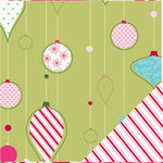 Bazzill Basics - Holiday Style Collection - Christmas - 12 x 12 Double Sided Paper - Trim a Tree