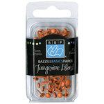 Bazzill Basics - Brads - Round 5mm - Tangerine Blast