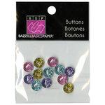 Bazzill - Buttons - Mini Modern - Pastel