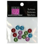 Bazzill - Buttons - Mini Modern - Bright