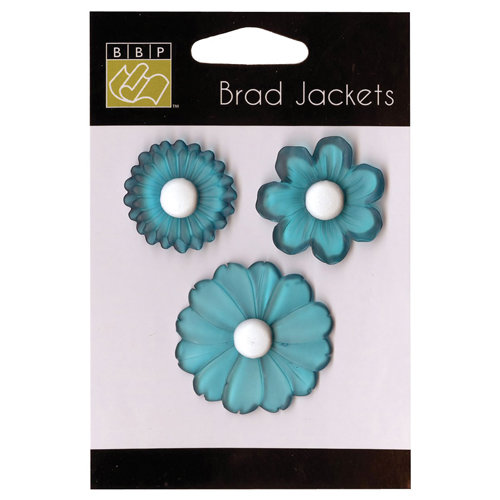 Bazzill - Brad Jackets - Flowers - Atlantic