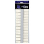 Bazzill Basics - Just the Edge - 12 Inch Cardstock Strips - Perfectly Pleated - Ledger