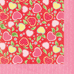 Bazzill Basics - Avalon Collection - 12 x 12 Double Sided Paper - Apples
