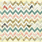 Bazzill - Janet Hopkins - Wayfarer Collection - 12 x 12 Double Sided Paper - Rover