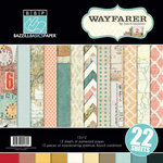Bazzill - Janet Hopkins - Wayfarer Collection - 12 x 12 Assortment Pack