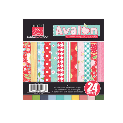 Bazzill - Avalon Collection - 6 x 6 Assortment Pack