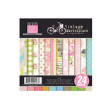 Bazzill - Margie Romney-Aslett - Vintage Marketplace Collection - 6 x 6 Assortment Pack