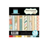Bazzill - Janet Hopkins - Wayfarer Collection - 6 x 6 Assortment Pack