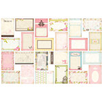 Bazzill Basics - Margie Romney-Aslett - Vintage Marketplace Collection - Lickety Slip - 4 x 6 Journaling Cards