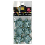 Bazzill Basics - Janet Hopkins - Wayfarer Collection - Paper Flowers - Whirlpool