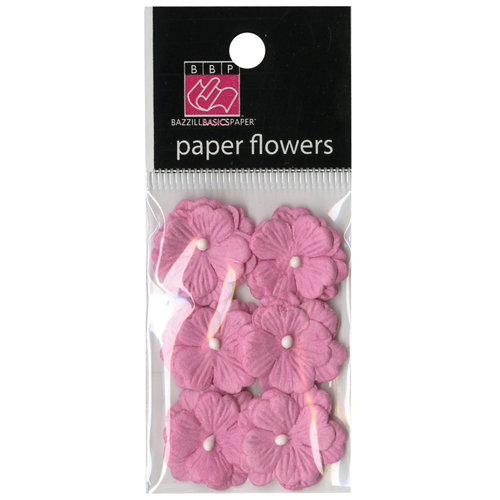 Bazzill Basics - Margie Romney-Aslett - Vintage Marketplace Collection - Paper Flowers - Piglet