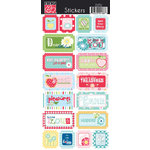 Bazzill - Avalon Collection - Cardstock Stickers