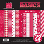 Bazzill Basics - Basics Collection - 12 x 12 Assortment Pack - Red Devil