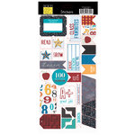 Bazzill - School Days Collection - Cardstock Stickers