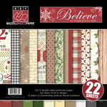 Bazzill - Margie Romney-Aslett - Believe Collection - Christmas - 12 x 12 Assortment Pack