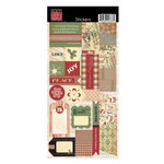 Bazzill Basics - Margie Romney-Aslett - Believe Collection - Christmas - Cardstock Stickers