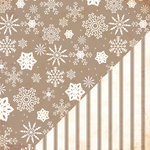 Bazzill - Margie Romney-Aslett - Timeless Collection - 12 x 12 Double Sided Paper - Snow Storm