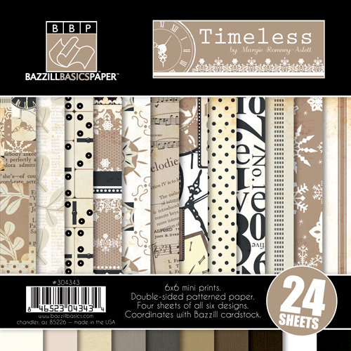 Bazzill - Margie Romney-Aslett - Timeless Collection - 6 x 6 Assortment Pack