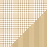 Bazzill - Basics Collection - 12 x 12 Double Sided Paper - Kraft - Picnic Plaid