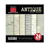 Bazzill - Heritage Collection - 6 x 6 Antique Paper Assortment Pack