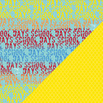Bazzill Basics - School Days Collection - 12 x 12 Double Sided Paper - School Days