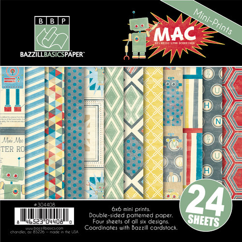 Bazzill Basics - Mac Collection - 6 x 6 Assortment Pack