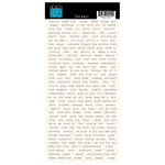Bazzill - Mac Collection - Cardstock Stickers - Words