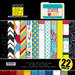 Bazzill - School Days Collection - 12 x 12 Assortment Pack