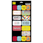 Bazzill Basics - School Days Collection - Cardstock Stickers - Good Job