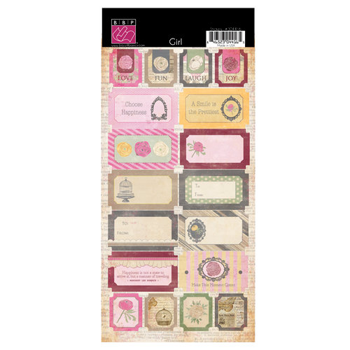 Bazzill Basics - Miss Teagen Sue Collection - Cardstock Stickers - Miss