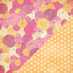 Bazzill - Miss Teagen Sue Collection - 12 x 12 Double Sided Paper - Bouquet