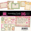 Bazzill - Miss Teagen Sue Collection - Lickety Slip - 4 x 6 Journaling Cards