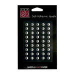 Bazzill Basics - Self Adhesive Jewels - 6 mm - Clear
