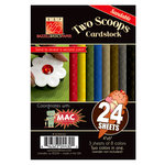 Bazzill - Two Scoops Collection - Mac - 4 x 6 Sandable Cardstock Pack