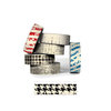 Bazzill - Antique Paper Tape - Houndstooth